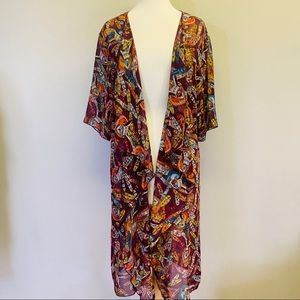 Rare Medium Aztec Owl LuLaRoe Shirley